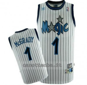 maglia tracy McGrady #1 orlando magic soul bianca