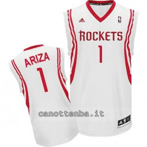 maglia trevor ariza #1 houston rockets revolution 30 bianca