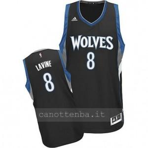 maglia zach lavine #8 minnesota timberwolves 2014-2015 nero