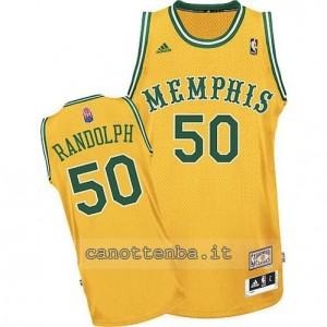 maglia zach randolph #50 memphis grizzlies classico giallo