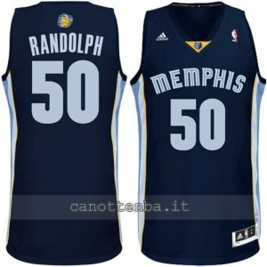 maglia zach randolph #50 memphis grizzlies revolution 30 navy