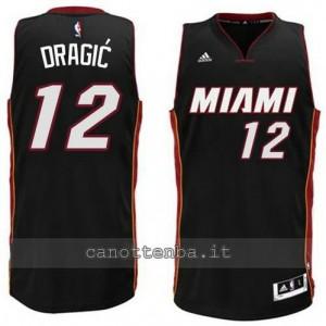 maglia zoran dragic #12 miami heat 2014-2015 nero