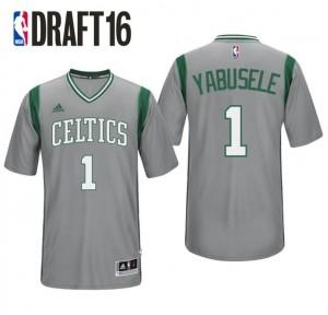 maglietta guerschon yabusele 1 boston celtics draft 2016 grigio