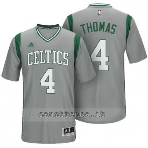 maglietta isaiah thomas #4 boston celtics alternato grigio