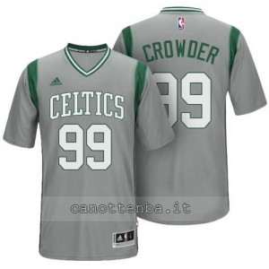 maglietta jae crowder #99 boston celtics alternato grigio