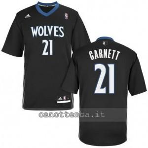 maglietta kevin garnett #21 minnesota timberwolves nero
