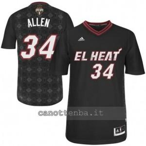 maglietta ray allen #34 miami heat nero