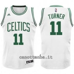 nuova maglia evan turner #11 boston celtics bianca