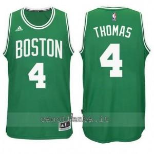 nuova maglia isiah thomas #4 boston celtics verde