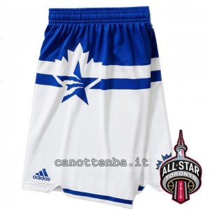 pantaloncini basket nba all star 2016 bianca
