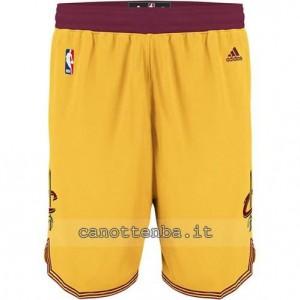 pantaloncini nba cleveland cavaliers giallo