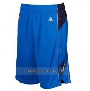 pantaloncini nba dallas mavericks blu