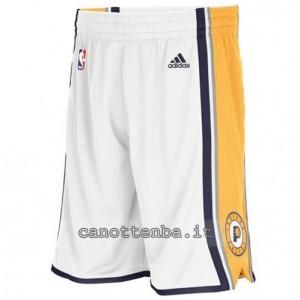 pantaloncini nba indiana pacers bianca