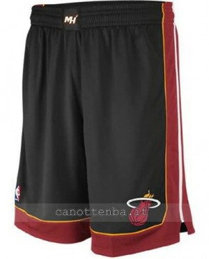pantaloncini nba miami heat nero
