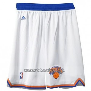 pantaloncini nba new york knicks bianca