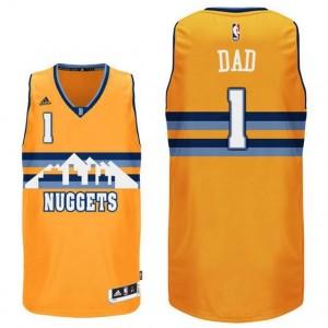 canotte dad logo 1 denver nuggets 2016 giallo