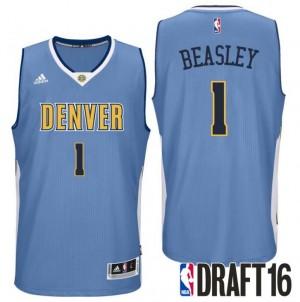 canotte malik beasley 1 denver nuggets draft 2016 blu