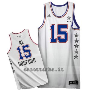 canotte al horford #15 nba all star 2015 bianca