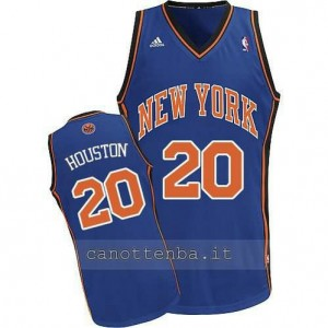 canotte allan houston #20 new york knicks blu