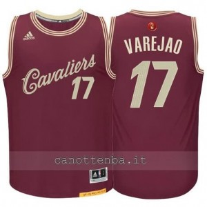 canotte anderson varejao #17 cleveland cavaliers natale 2015 resso