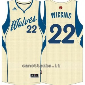 canotte andrew wiggins #22 minnesota timberwolves natale 2015 giallo