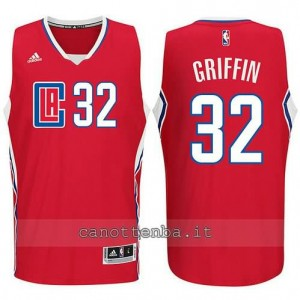 canotte blake griffin #32 los angeles clippers 2015-2016 rosso