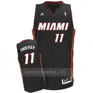 canotte chris andersen #11 miami heat revolution 30 nero