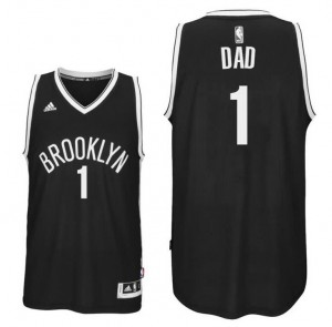 canotte dad logo 1 brooklyn nets 2016 nero