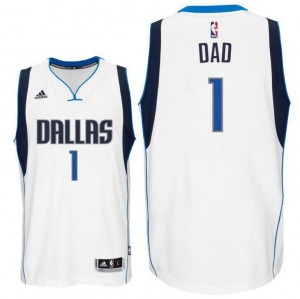 canotte dad logo 2 dallas mavericks 2015-2016 bianca