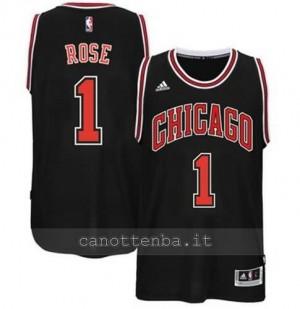 canotte derrick rose #1 chicago bulls 2014-2015 nero
