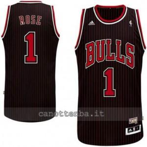 canotte derrick rose #1 chicago bulls revolution 30 striscia