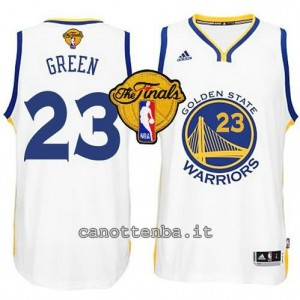 canotte draymond green #23 golden state warriors finale 2015 bianca