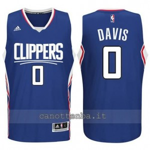 canotte glen davis #0 los angeles clippers 2015-2016 blu