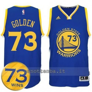 canotte golden state warriors 73 wins 2016 blu