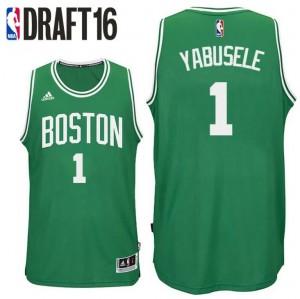canotte guerschon yabusele 1 boston celtics draft 2016 verde