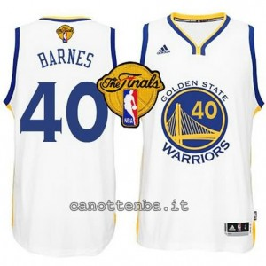 canotte harrison barnes #40 golden state warriors finale 2015 bianca