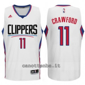 canotte jamal crawford #11 los angeles clippers 2015-2016 bianca