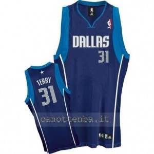 canotte jason terry #31 dallas mavericks blu