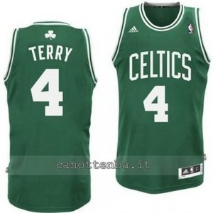 canotte jason terry #4 boston celtics retro verde