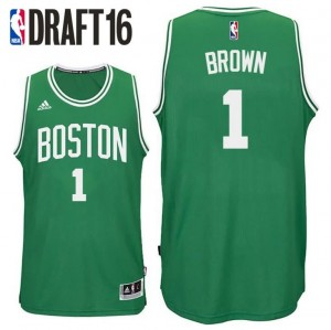 canotte jaylen brown 1 boston celtics draft 2016 verde