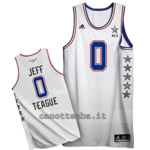 canotte jeff teague #0 nba all star 2015 bianca