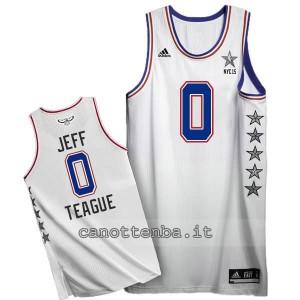 canotte jeff teague #0 nba all star 2015 bianca
