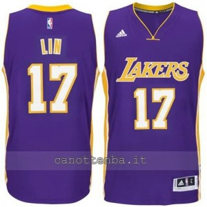 canotte jeremy lin #17 los angeles lakers 2014-2015 porpora