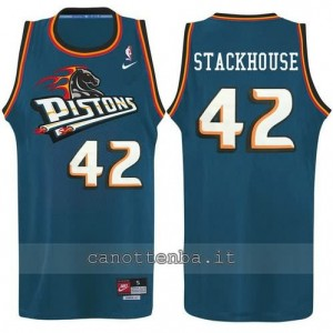 canotte jerry stackhouse #42 detroit pistons alternato