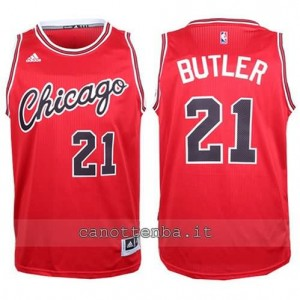 canotte jimmy butler #21 chicago bulls 2015-2016 rosso