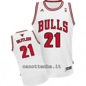 canotte jimmy butler #21 chicago bulls revolution 30 bianca