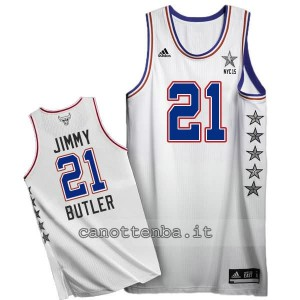 canotte jimmy butler #21 nba all star 2015 bianca