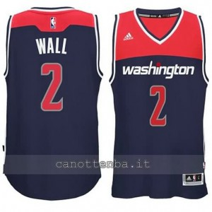 canotte john wall #2 washington wizards 2014-2015 blu