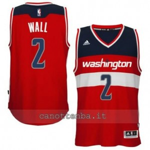 canotte john wall #2 washington wizards 2014-2015 rosso