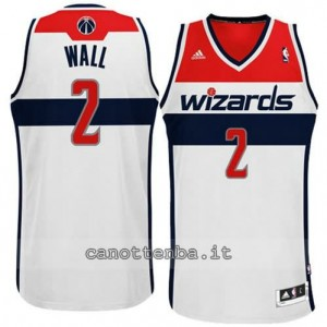 canotte john wall #2 washington wizards revolution 30 bianca